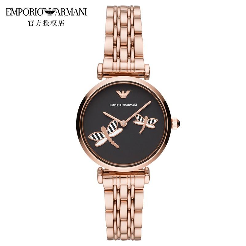 阿玛尼手表  女士石英腕表