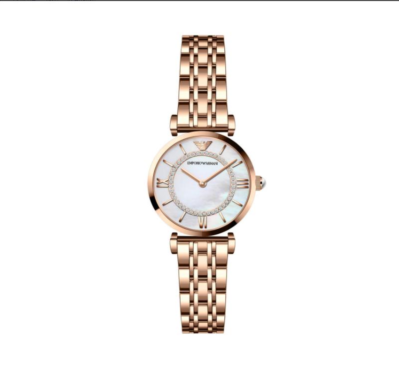 阿玛尼(ARMANI)手表 女时尚镶钻满天星系列女士手表